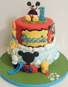 Mickey mouse  Cake by ShereensCakes