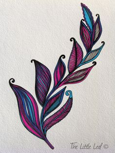 Fern design. I'm looking for a fern to get tattooed for my father; a stargazer lily for my mother ♥