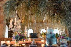 Crystal sparkling wedding, welcome table, custom designed dessert table Sparkle Wedding, Chic Wedding, Luxury Wedding, Wedding Reception, Reception Decorations, Table Decorations, Welcome Table, Greece Wedding, Make Design
