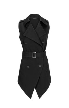 This sleeveless trench coat is a great trans seasonal piece to bring you from Winter into Spring. WRIGHT VEST - 12S0508SW $180 Shop the rest of our new Spring/Summer Collection at www.saxony.com.au