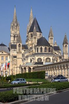 Etienne Cathedral , Caen : the tomb of William the Conqueror