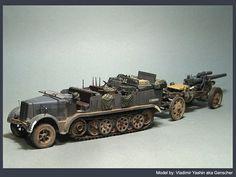 1/35 Sd Kfz 7/1 & sFH 18 by Vladimir Yashin aka Genscher