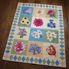 Elizabeth Bradley needlepoint rug
