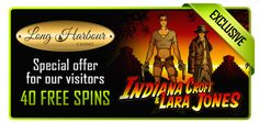 40 Free Spins at Long Harbour Casino