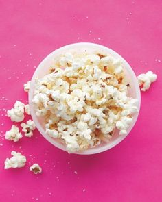 Olive Oil and Parmesan Popcorn
