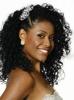qual e a cor ideal para cabelo de mulher negra do momento com mechas ou reflexo - Pesquisa Google