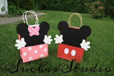 Mickey Mouse goody bags/ Mickey Mouse Party favor by SuchisStudio