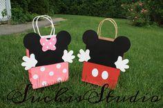 Bolsas de chuchería de Mickey Mouse Mickey Mouse por SuchisStudio