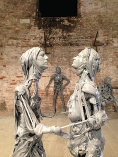 "Pawel Althamer ""Venetians"" / 2013"