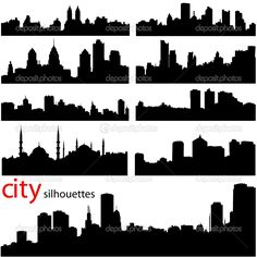 Illustration about City background vector in black. Illustration of outline, background, effect - 3865495 Silhouettes, City Outline, Amsterdam Houses, House Vector, City Background, City Buildings, Business Brochure, Brochure Template, Handmade Crafts