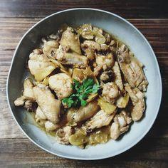 stirfry ginger chicken use kakak recipe instead