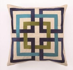 Great Trina Turk accent pillow.  Product in photo from www.wellappointedhouse.com