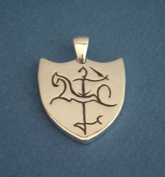 Lithuanian Vytis Pendant for Men Personalized by undinejewellery, $125.00