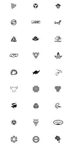 Symbol & Logo Design Archive 94-08 by Gert van Duinen, via Behance #logos #inspiration