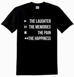 Play The Laughter Unisex TShirt by CrazyPrintsL on Etsy, £7.99
