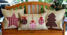 New sewing christmas pillows gifts ideas Felt Christmas, Homemade Christmas, Christmas Home, Christmas Applique, Christmas Quilting, Christmas 2019, Christmas Sewing Projects, Christmas Crafts, Christmas Decorations