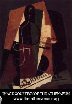 Discovered the artworks of Juan Gris today thanks to the Google doodle paing homage to his 125th birthday. I instantly fell in love with his work and I hope to learn from it.