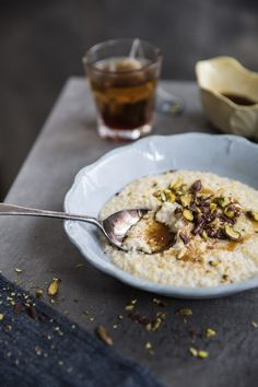 Growing up, my favourite breakfast porridge was a sweet bulgur concoction often served with nuts and fresh cream. My mum was always experimenting with different grains whether it was breakfa…