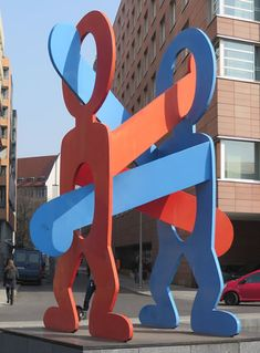 Hidden Berlin: a treasure trove of public art in Berlin's Potsdamer Platz Keith Haring, Pop Art, Berlin Art, Installation Art, Art Installations, Outdoor Art, Land Art, Public Art, Graffiti Art