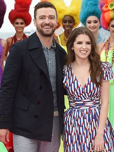 Justin Timberlake and Anna Kendrick Apparently Look Exactly Like Their Characters in Trolls|