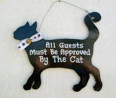 Funny Cat Sign No Outfit Is Complete Without Cat Hair Crazy Cat Lady, Crazy Cats, Cute Cats, Funny Cats, Gatos Cats, Cat Signs, Door Signs, Cat Hair, All About Cats