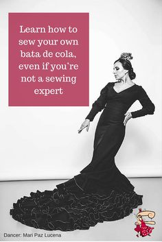a9b9c0fe7 FREE eBook showing you step by step how to sew a bata de cola Flamenco Skirt