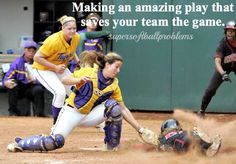 *Please note when there's no credit, that means I came up with the post myself. Softball Catcher Quotes, Softball Memes, Softball Problems, Softball Pitching, Softball Shirts, Girls Softball, Fastpitch Softball, Softball Players, Softball Stuff