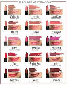 Younique lipsticks! I love our lipsticks! They are very moisturizing and they stay on for a long time! www.fabulashesbyaimee.com