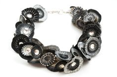 Shell necklace by Ford & Forlano  ||  polymer, sterling silver  $6,900.00