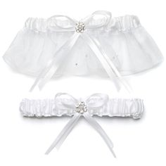 Weddingstar Scattered Pearls and Crystals Two Piece Bridal Garter Set, White * For more information, visit - Baking tools