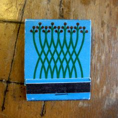 abstract floral matchbook