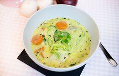 Low Carb cremige Hähnchensuppe – Low Carb Köstlichkeiten