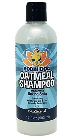 NEW All Natural Pet Oatmeal Shampoo | Hypoallergenic Conditioning and Deodorizing Formula for Dogs Cats