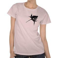 schwarze Rose, Shirt für Frauen ,Black Rose,
