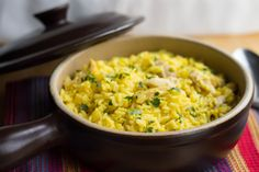 A flavorful one pot meal that's quick and easy - great for a mid week meal.