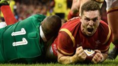 Wales survive an Ireland fightback to claim victory and hand England the chance to clinch the Six Nations title against Scotland on Saturday.