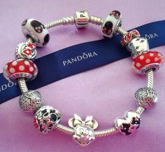 Pandora  Disney Minnie Mouse Bracelet  2015