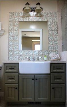 bathroom vanity farmhouse sink bathroom sinks decoration from Apron Sink Bathroom