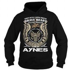 nice Keep Calm And Let AYNES Handle It Hoodies T shirt