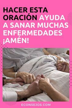 Oracion Poderosa - Contra las Enfermedades Rosary In Spanish, Pray In Spanish, Spanish Prayers, Spiritual Eyes, Bible Topics, Miracle Prayer, Bible Verses About Love, Special Prayers, Bible Encouragement