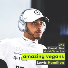 Lewis Hamilton went #plantbased ! He said he feels #better then ever and will stick to it ! Glad to have you in the family of those who care about the #planet our #health and the #animals Lewis ! #Follow him and PETA (People for the Ethical Treatment of Animals) and Mercy For Animals L214 Ethique et Animaux #attitudevegan #vegan #amazingvegans #formulaone #gtsport #fat #pig #bacon #heal #earthlings #lifestyle #workout #sexy #steak #inspiration #run #health #veganstyle #whatthehealth #fresh…