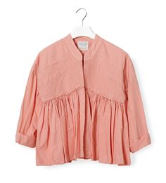 Forte Forte pink ruffled jacket