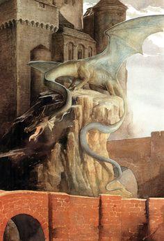 Alan Lee- Castillos de la edad de la fantasía