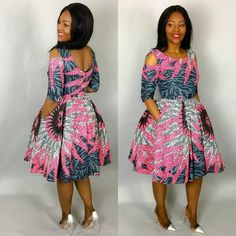 """37 Likes, 2 Comments - Ankara in vogue (@ankarainvogue) on Instagram: """"#ankarainvogue from @nasb_stitches - Happy Sunday beautiful people .The perfect dress for church…"""""""