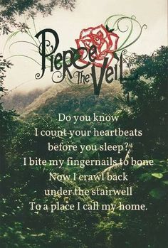Pierce The Veil - Bulls In The Bronx // I sang this in my head perfectly, the voice, timing and music. I listen to this song to much.