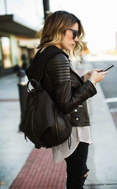 Get In On The Backpack Purse Trend   Daily Chic Inspiration