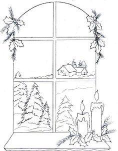 Christmas Lanterns, Christmas Colors, Christmas Art, Christmas Coloring Pages, Coloring Book Pages, Kirigami, Candle Drawing, Christmas Stencils, Wood Burning Patterns