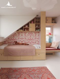 15 Attic Bedroom Trend to Inspire You Bedroom - Bedroom Design Attic Bedrooms, Girls Bedroom, Bedroom Decor, Bedroom Rustic, Master Bedroom, Creative Kids Rooms, Loft Room, Custom Made Furniture, The White Company