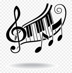 Player Piano Musical Note - Piano Keys And Music Notes - Free . Musical Notes Clip Art, Music Notes Art, Art Music, Piano Art, Piano Music, Fancy Music, Music Note Symbol, Music Clipart, Notes Free