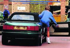 An Audi convertible which once belonged to Princess Diana sold for £36,500 at an auction on Saturday at Blenheim Palace.     The 2.3E car, seen below, in which Princess Diana is pictured getting into  after a gym session in 1994, attracted interest from Norway, India,  Australia and America but eventually sold to a UK bidder
